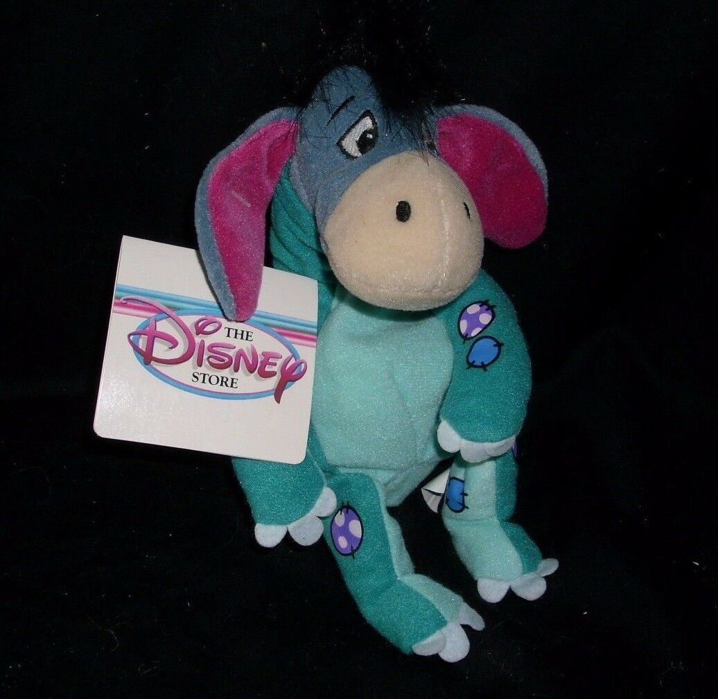 Primary image for DISNEY STORE WINNIE THE POOH DINOSAUR EEYORE BEAN BAG STUFFED ANIMAL PLUSH TOY