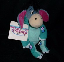 DISNEY STORE WINNIE THE POOH DINOSAUR EEYORE BEAN BAG STUFFED ANIMAL PLU... - $8.60