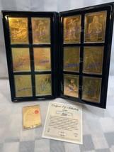 FLEER Premier Edition Basketball Gold 23k 1997 12 Cards w/ Starting Five... - $181.12