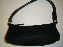 NINE WEST SMALL BLACK SHOULDER BAG - $13.49
