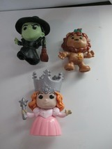 McDonald's The Wizard Of Oz 25th Anniversary 2013 Lion Glenda Good & Bad Witch - $6.92