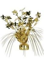Mardi Gras Gold Fleur De Lis Cascade Centerpiece Decor - $114,31 MXN
