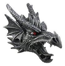 "Ebros Large Sculptural Shadow Saurian Devil Dragon Wall Decor 16"" H Fantasy Goth - $54.95"