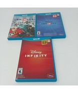 Wii U 1.0 2.0 3.0 Disney Infinity HUGE LOT Over 90 pieces! Avengers Supe... - $280.15