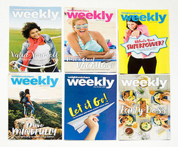 Lot Of 6 Weight Watchers Weekly Guides May June 2017 With Recipes - $4.20