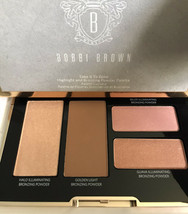Bobbi Brown Take It To Glow Highlight & Bronzing Palette NIB - $49.98