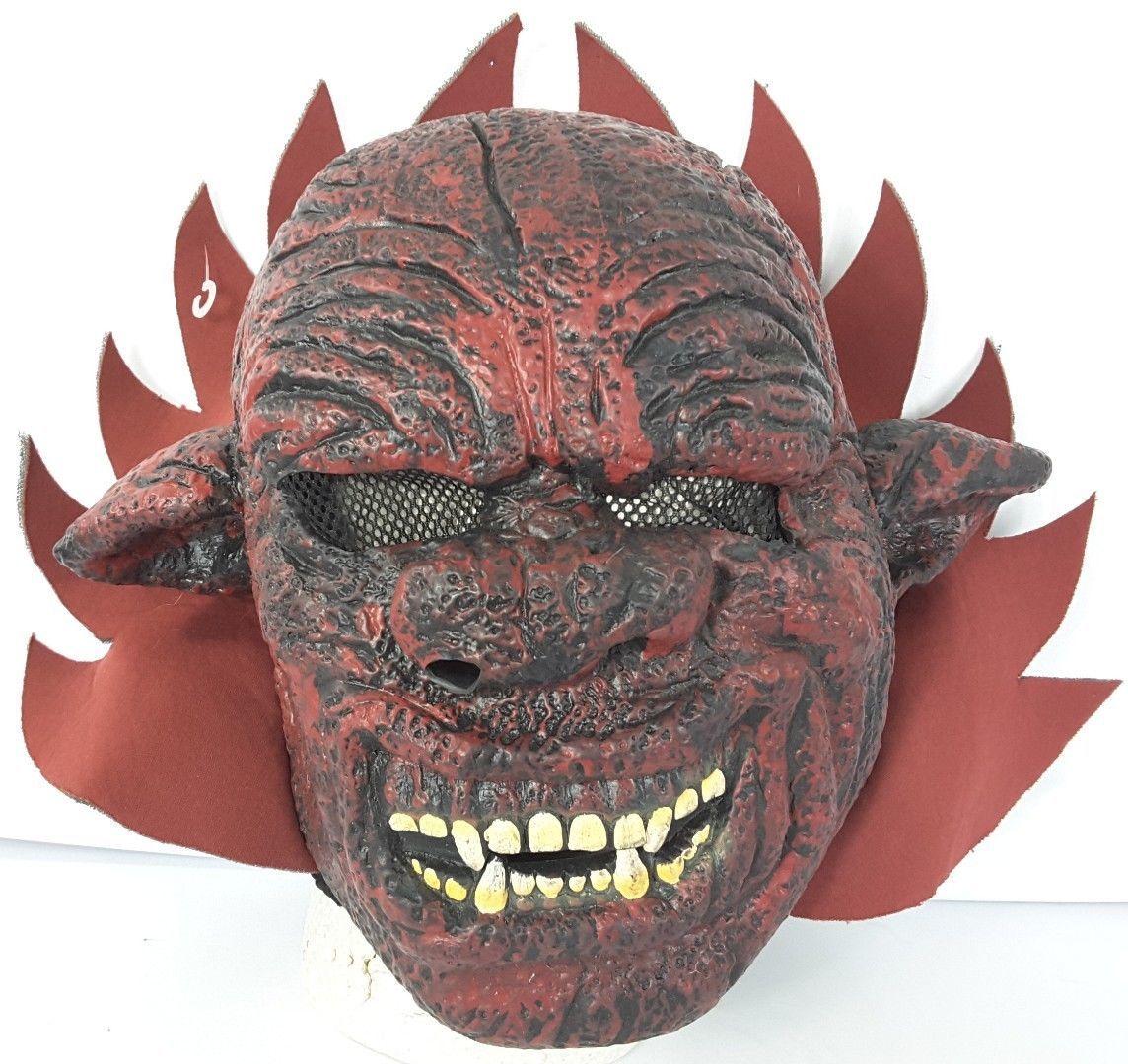 Vtg 1997 Demon Red Devil Gorilla Ape Scary Horror Full