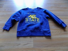 Size XS Disney Store The Lion King Simba Cub Navy Blue Sweatshirt Sweat ... - $14.00