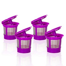 4 Pack Keurig Coffee Filter Reusable K Cups, Replacement for Keurig 2.0 ... - €15,72 EUR