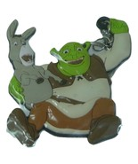 Shrek 2 and Donkey key fob NIP 2005 - $6.00