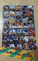 2017 TEENYMATES SERIES 6 COMPLETE NFL PUZZLE SET / ALL 35 PIECES - BRAND NEW image 1
