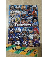 2017 TEENYMATES SERIES 6 COMPLETE NFL PUZZLE SET / ALL 35 PIECES - BRAND... - $13.43
