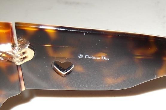 Christian Dior 'Lovingly Dior 1' Sunglasses Havana/Pink  Lens:Red Beige Gradient