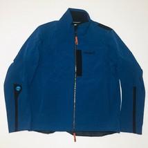 Timberland Windbreaker Jacket Mens Water Resistant Waist Pull Strings Bl... - $33.14