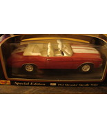 1972 Chevrolet Chevelle SS454 Car Model - New in Box - Special Edition - $20.00