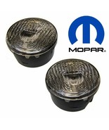 2007-2018 Jeep Wrangler JK Pair of CLEAR Park Turn Signal Lamps Mopar OEM  - $54.99