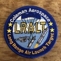 Coleman Aerospace Long Range Air Launch Target LRALT Patch US Air Force USAF - $19.79
