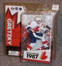 2005 McFarlane Wayne Gretzky Team Canada Hockey Action Figure New In The... - $44.99