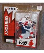 2005 McFarlane Wayne Gretzky Team Canada Hockey Action Figure New In The... - $44.99
