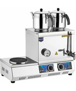 REMTA TEA MACHINE HEAVY DUTY PROFESSIONAL TEA BOILER COOKER ELECTRIC SUPPLY - $247.49+