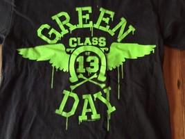 Green Day Shirt Adult Small Class Of 13  Punk Rock Shirt 2009 Grunge Day... - $14.24