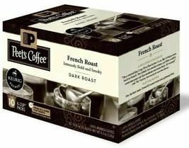 Peet's Coffee French Roast Dark roast coffee K-Cup Coffee Pods 60 Count image 1