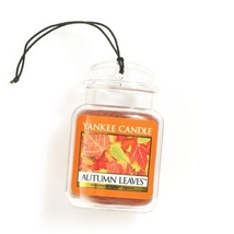4 new yankee candle ultimate car jar air freshener autumn leaves - £9.45 GBP