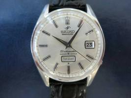 Seiko Seikomatic 6218-8970 Weekdater Automatic Mens Authentic Watch Japan - $653.39