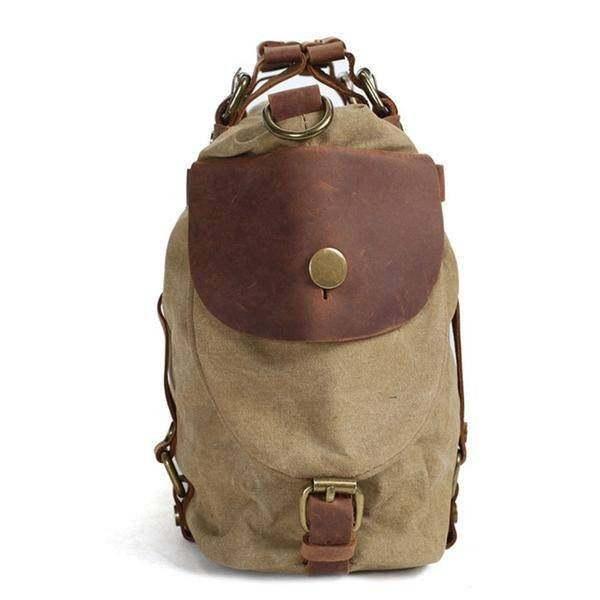 On Sale, Canvas With Leather Bag, Leather Briefcase, Messenger Bag, Shoulder Bag image 3