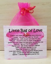 Little Bag of Love - Unique Fun Novelty Gift & Card All In One - $6.74