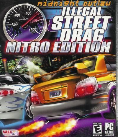 Illegal Street Drag Midnight Outlaw Nitro Edition Racing Game PC NIP Bonanza