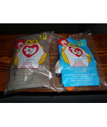 McDonald's beanie babies lot of 2 #10 and #11 happy meal toy - $4.50