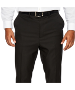 Shaquille O'Neal XLG Black Stretch Regular Fit Suit Pants 50X29, 52X30, ... - $49.99