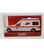 MB E 200 T Binz Ambulance Herpa 1998 043984 1:87 Vintage - $9.89