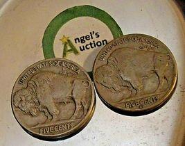 Buffalo Nickel 1935 P and 1935 S  AA20BN-CN7002 image 3