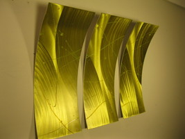 Abstract Wall Art Metal Modern Sculpture Painting new image 1