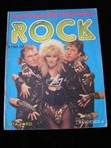 Enciclopedia Illustrada Del Rock #6 Lita Ford Aretha Franklin Peter Fram... - $19.99