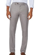 Tommy Hilfiger Men's Custom Tailored Fit Pants, Gray, Size 32X32, MSRP $68 - $31.67