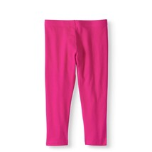 Wonder Nation Girls Tough Cotton Capri Leggings Size X-Small 4-5 Pink  - $9.89