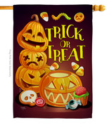 Spooky Sweet - Impressions Decorative House Flag H112088-BO - $40.97
