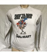 VTG 80s Walmart Sweatshirt Cartoon Shopping Television Advertising Shirt... - $149.99