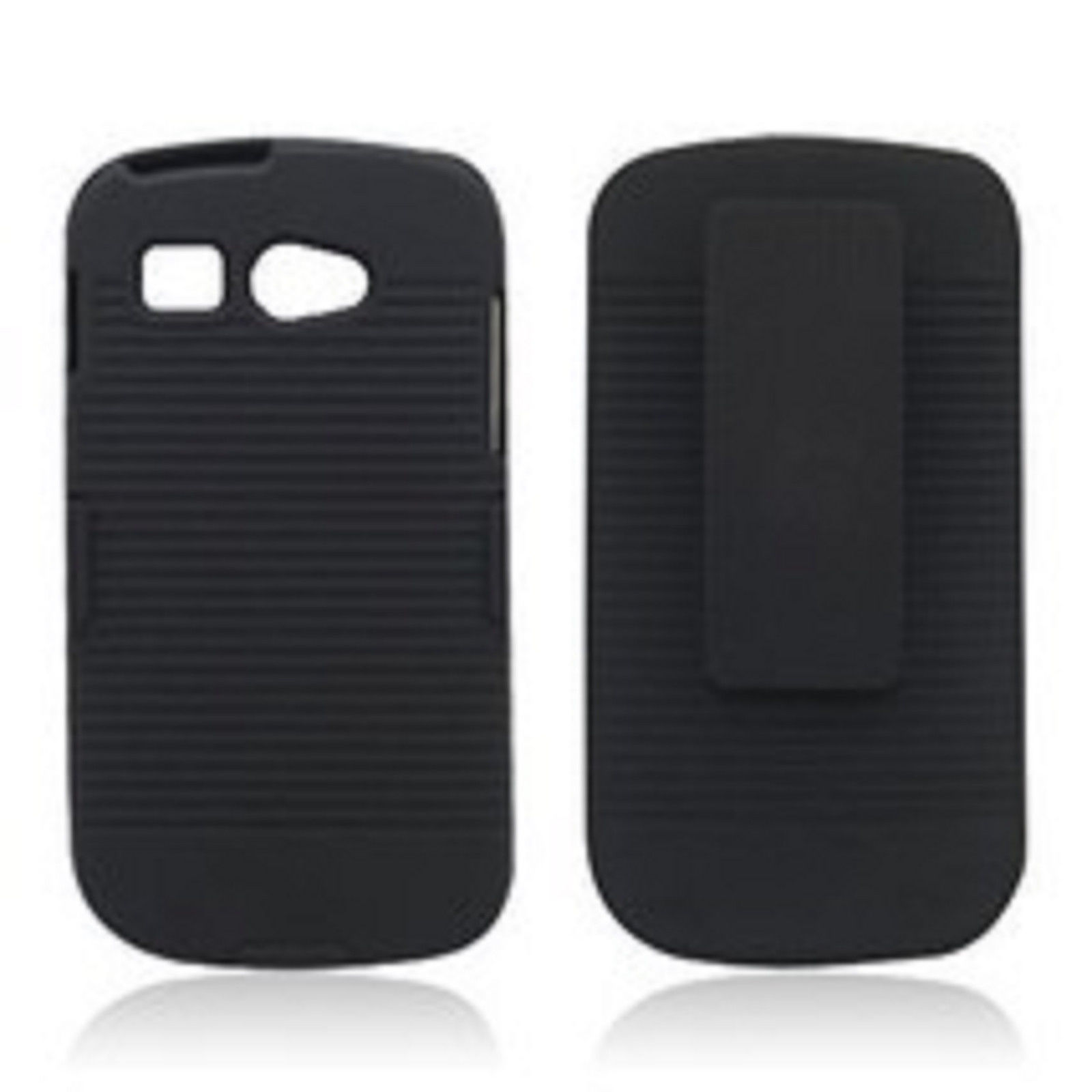 Boost Mobile Kyocera Hydro C5170 rubberized black shell case - $9.99