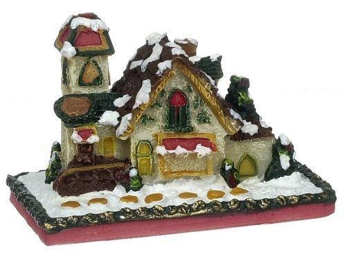 "DOLLHOUSE MINIATURES 1"" GINGERBREAD HOUSE #G3269"