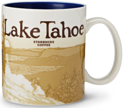 Starbucks 2012 Lake Tahoe Global Icon Series City Mug NEW IN BOX - $84.90