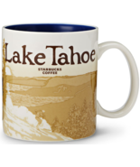 Starbucks 2012 Lake Tahoe Global Icon Series City Mug NEW IN BOX - $68.95