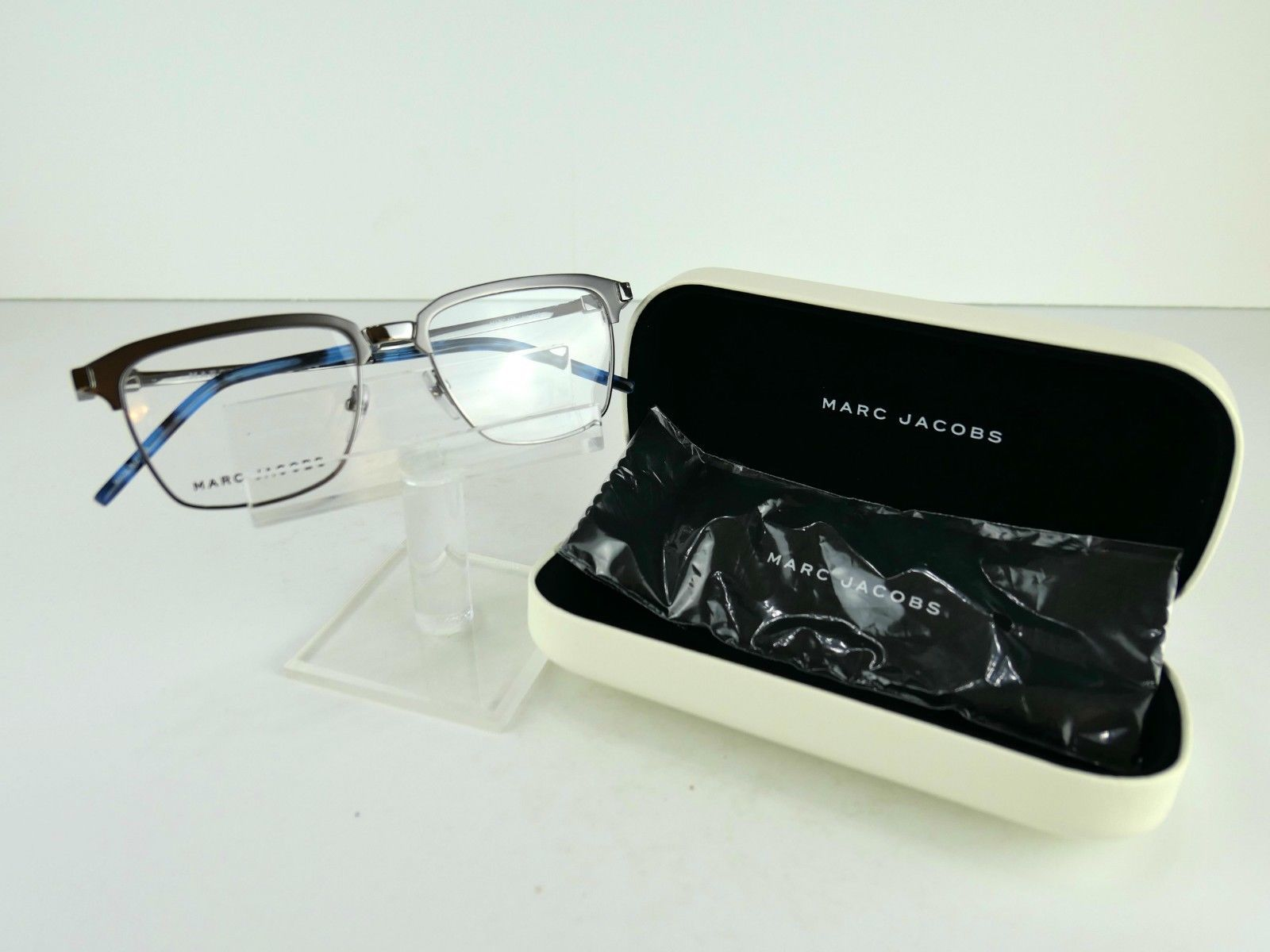 Primary image for Marc by Marc Jacobs MARC 146 (LN4) Matt Dk Ruthenium 52 x 17 145 Eyeglass Frames