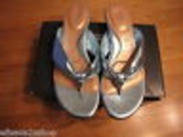 You by Crocs Tress Aqua Sandals Flip Flops Thong 7.5 7 1/2 Women's Junio... - $62.85