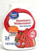 Great Value Strawberry Watermelon Liquid Water Drink Enhancer 1.62 oz - $4.94