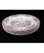 Churchill England The Brook Pink Rimmed Soup Bo... - $49.00