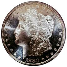 1880 S  MS+++ MORGAN SILVER DOLLAR *  STRONG CAMEO OBV. 729 - $122.50